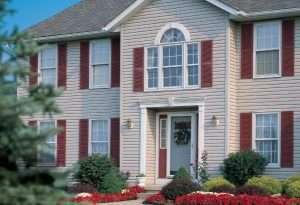 House with KP hudson bay vinyl siding