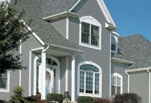 House with KP nothern star vinyl siding