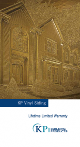 Vinyl Siding Warranty Kp Vinyl Siding
