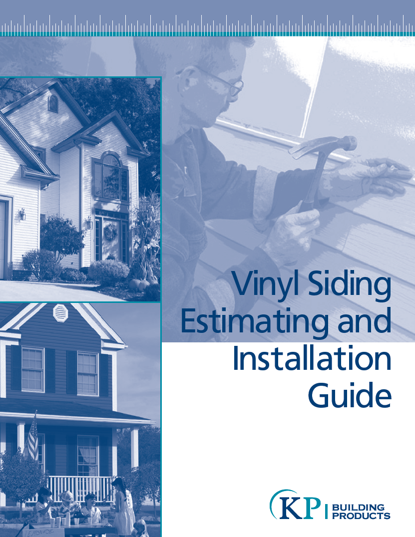 Installation Guides Kp Vinyl Siding