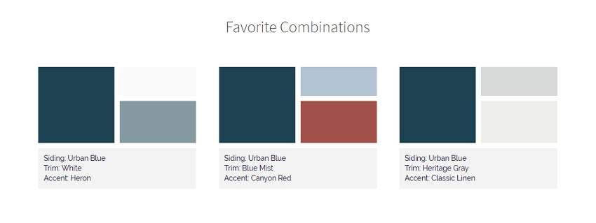 urban blue Color combinations