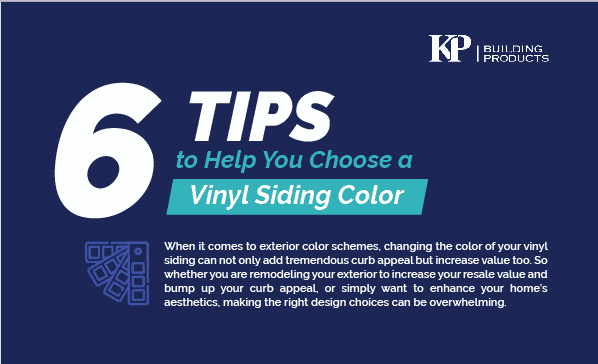 6 Tips to Help You Choose a Vinyl Siding Color