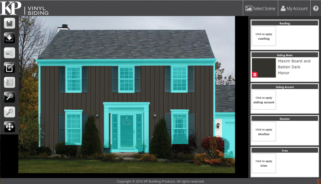 home designer 2.0 , vinyl siding colors