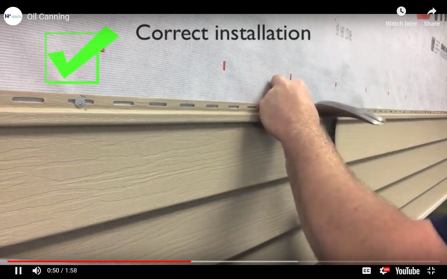Vinyl Siding Installation Tips Kp Vinyl Siding