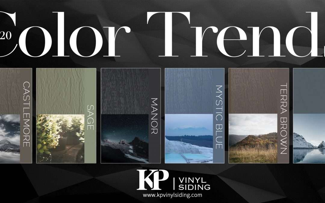 Vinyl Siding Trending Colors for 2020