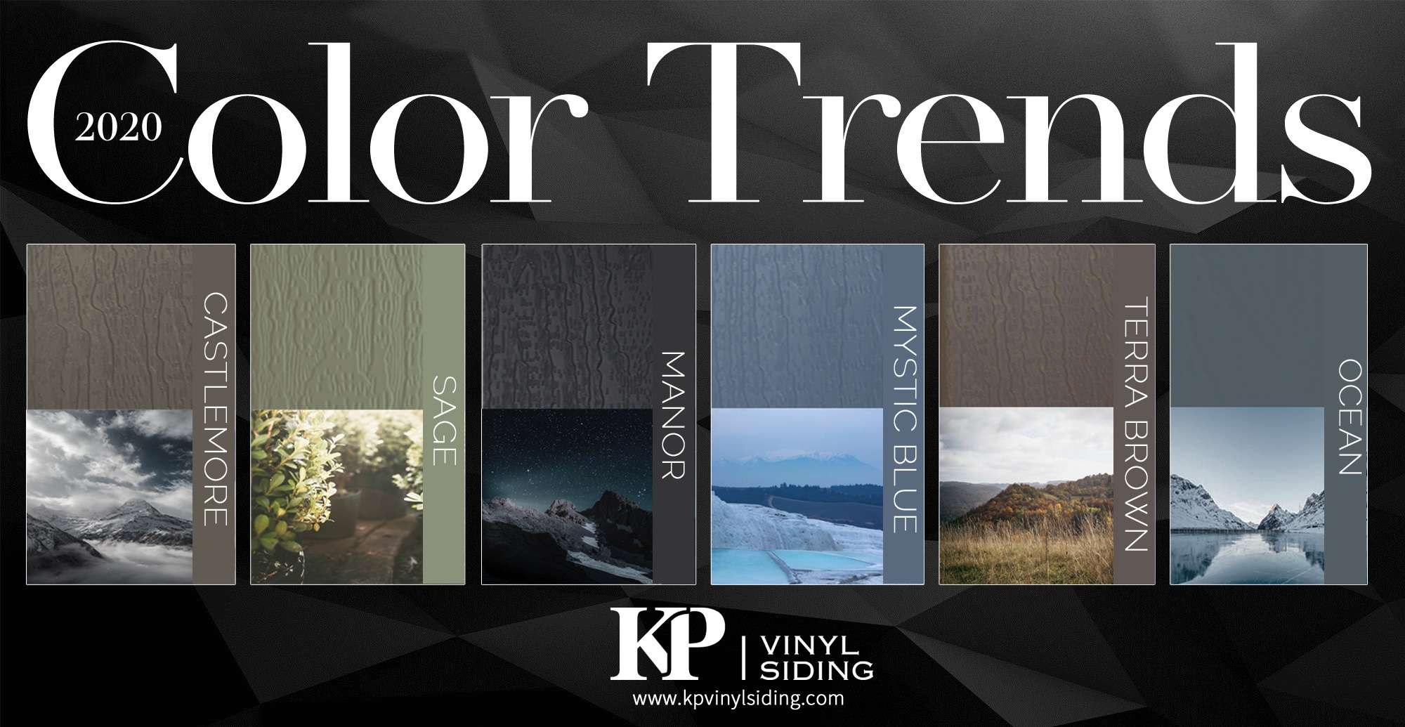 Vinyl Siding Trending Colors For 2020 Kp Vinyl Siding