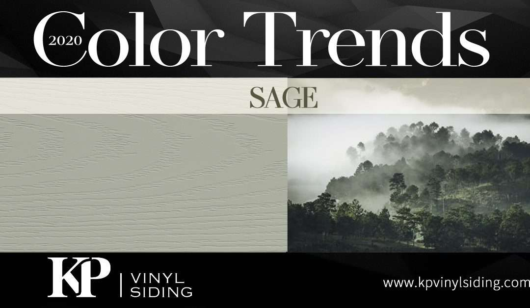 Siding Color Trends: Sage