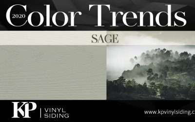 Siding Color Trends: Sage
